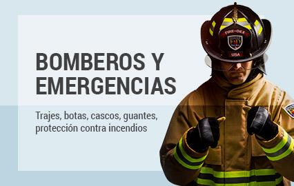 productos de seguridad industrial para Bomberos y Emergencias | EPP Seguridad Industrial