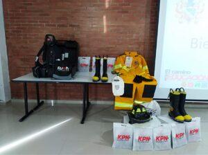 trajes y equipos estructurales para bomberos