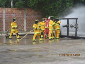 equipos y trajes estructurales para bomberos