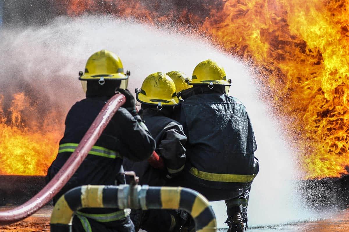 Normativa EPP para bomberos