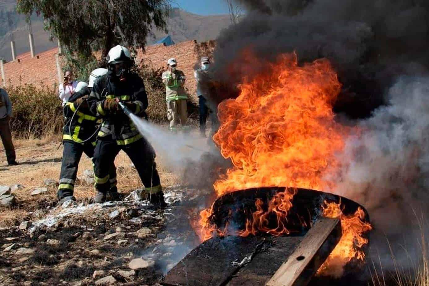 equipos de protección para incendios