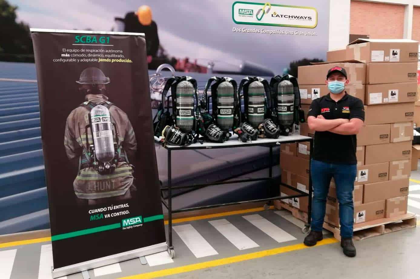 equipos de respiración autónoma