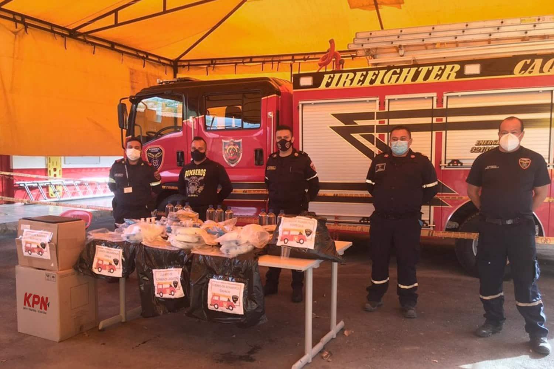 Donaciones Bomberos Tequendama y UNGRD KPN Safety