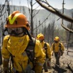 conoce los equipos contra incendios forestales